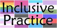 inclusive practice logo encompassing all genders and sexual identities.  inclusive birth doula, lgbt birth doula services, welcoming doula services, trans friendly birth doula